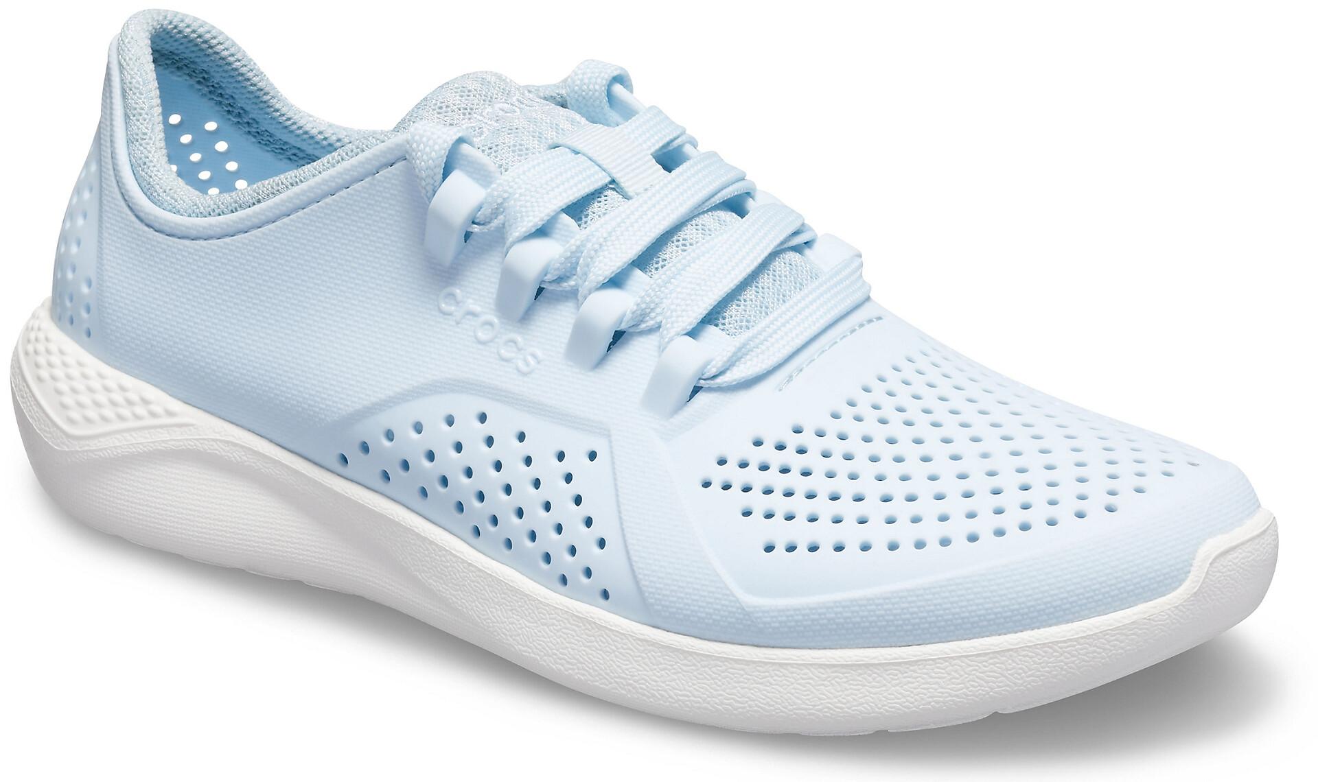 Crocs LiteRide Pacer Schoenen Dames, mineral bluewhite